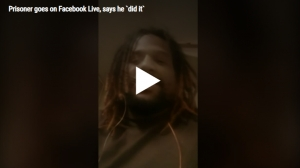 Federal prisoner says 'I did it' during Facebook Live from inside cell